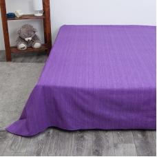 Простыня перкаль 2049310 Эко 10 фиолетовый 1.5 сп
