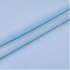 Ткань на отрез фланель 90 см цвет голубой