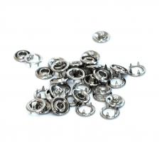 Кнопка Strong рубашечная 9,5 мм никель уп 50 шт