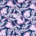 Маломеры интерлок пенье Монстера розовая R-R6058-V3 0.3 м
