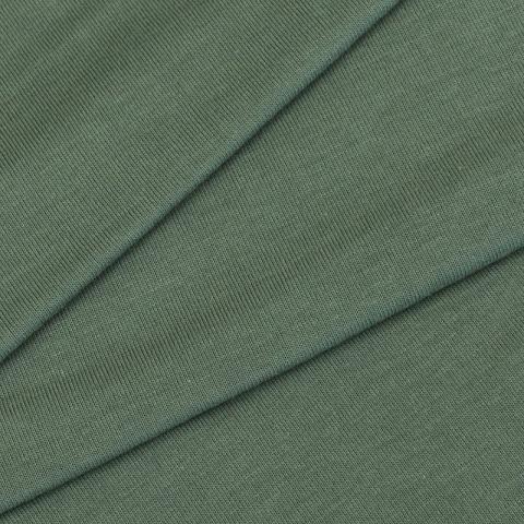 Маломеры кулирка гладкокрашеная карде 9557а Oil Green 0.8 м
