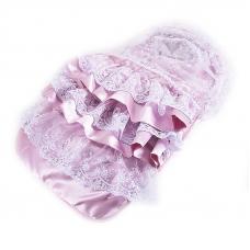 Конверт-одеяло из 2-х предметов цвет розовый