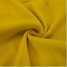 Ткань на отрез кашкорсе 3-х нитка с лайкрой цвет горчичный