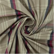Ткань на отрез дюспо КТ0106 Клетка цвет малиновый