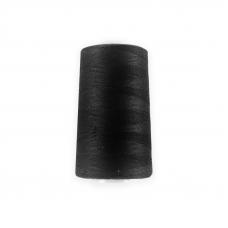 Нитки 40/2 5000 ярд, 100% п/э цвет Черный