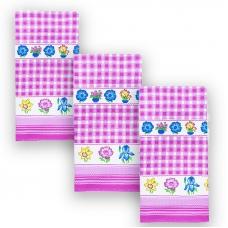 Набор вафельных полотенец 3 шт 35/70 см 156
