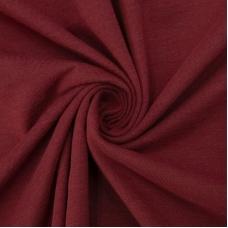 Ткань на отрез кулирка 1507 цвет бордо