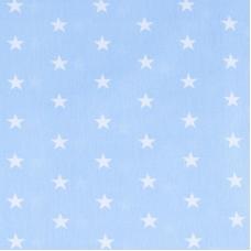 Мерный лоскут бязь плательная 150 см 1700/3 цвет голубой 15,8 м