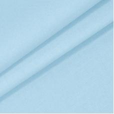 Мерный лоскут на отрез поплин гладкокрашеный 115 гр/м2 220 см цвет голубой