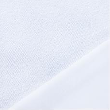Ткань на отрез terrycloth+PU Махра Хлопок водостойкая полиуретановая мембрана плотность 190 г/м2