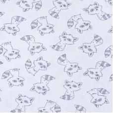 Ткань на отрез интерлок Енотики 5423-19