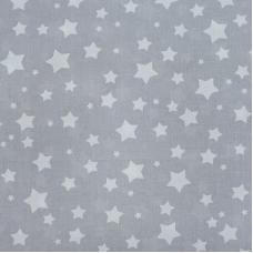 Ткань на отрез перкаль 150 см 13165/2 Звезда цвет мята Копия