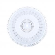 Булавки наметочные ромашка 46 мм арт.ТВ.PHA-03 BL цвет белый упак 30 шт
