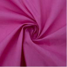 Рубашечная ткань на отрез 150 см цвет ярко-розовый