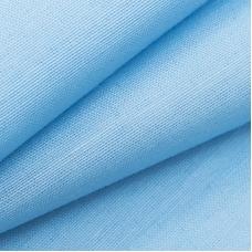 Ткань на отрез Тик 150 см цвет голубой