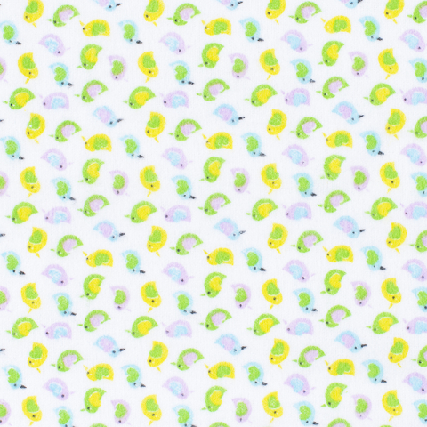 Маломеры фланель 90 см 95031 Птички 4.1 м