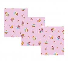 Набор вафельных полотенец 3 шт 35/75 см 198401В Сластена