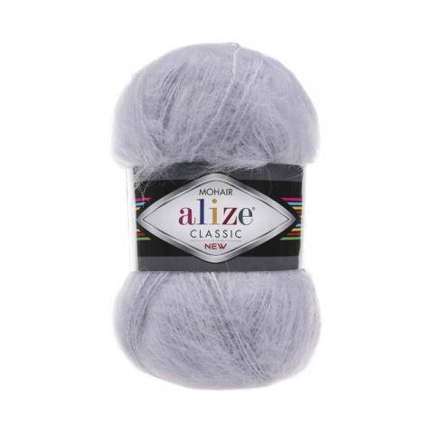 Пряжа ALIZE MOHAIR CLASSIK 52-талая вода (24% шерсть 25% акрил 51% акрил)