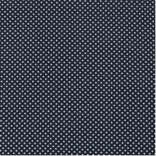 Мерный лоскут на отрез бязь плательная 150 см 1590/25 цвет черный от 1 м
