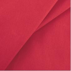 Бязь гладкокрашеная 120гр/м2 150 см цвет красный 032