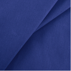 Бязь гладкокрашеная 120гр/м2 150 см цвет синий 270