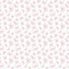Ткань на отрез поплин 150 см 1770/6 Б/З цвет персик