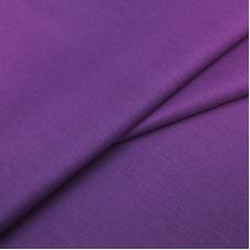 Бязь гладкокрашеная 120гр/м2 220 см на отрез цвет 28 черничный мусс