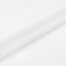 Ткань на отрез фланель цвет белый 150 см