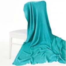 Покрывало-плед Петелька 150/200 цвет зеленый