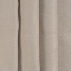 Портьерная ткань софт однотонный 280 см на отрез 502-41 темно-бежевый