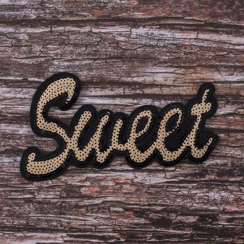 Аппликация Sweet 21*11,5 см