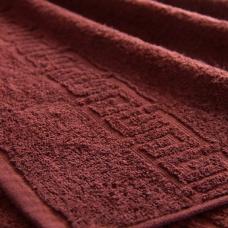 Полотенце махровое Туркменистан 50/90 см цвет Горячий шоколад