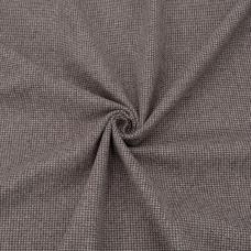 Ткань на отрез кашемир лапка цвет кофейный