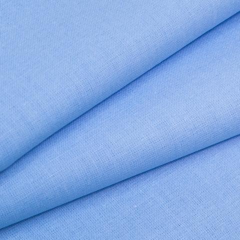 Ткань на отрез бязь ГОСТ Шуя 150 см 12410 голубой