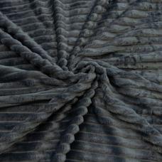 Весовой лоскут велсофт Orrizonte 300 гр/м2 006-ОT цвет серый 2,0 / 1,3 м 0,870 кг