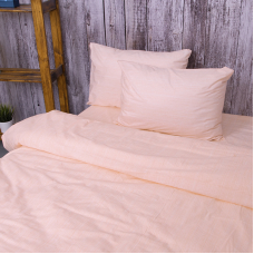 Пододеяльник из перкаля 204934 Эко 4 персиковый, 2-x спальный