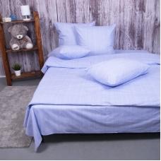 Пододеяльник из перкаля 2049313 Эко 13 голубой, 1,5 спальный