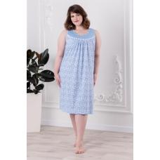 Ночная сорочка 0086-16 цвет Голубой р 62