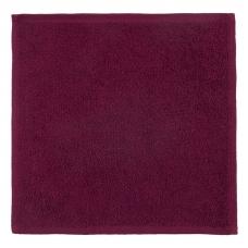 Салфетка махровая цвет 945 бордо 30/30 см