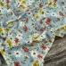 Ткань на отрез штапель 145 см 20038 Романтика цвет голубой