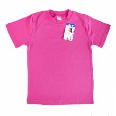 Футболка детская  цвет малиновый рост 146