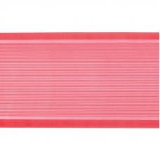 Лента для бантов ширина 80 мм (25 м) цвет красный