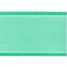 Лента для бантов ширина 80 мм (25 м) цвет зеленый