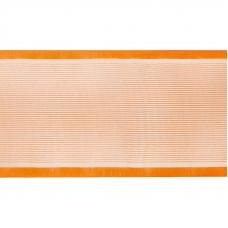 Лента для бантов ширина 80 мм (25 м) цвет оранжевый