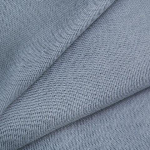 Мерный лоскут кулирка гладкокрашеная 7332 цвет серый 40/98х2 см