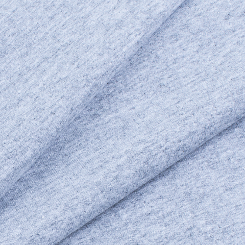 Мерный лоскут футер петля с лайкрой Серый 40/185 см