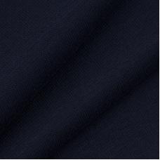 Ткань на отрез рибана с лайкрой М-2124 цвет темно-синий