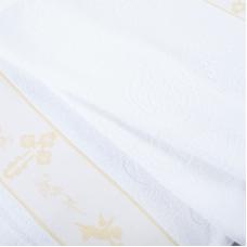 Полотенце махровое Sunvim 18В-3 Крестильное 65/135 см цвет белый