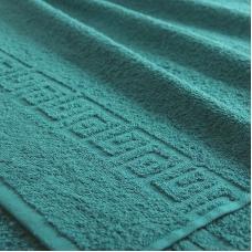 Полотенце махровое Туркменистан 40/65 см цвет темный изумруд