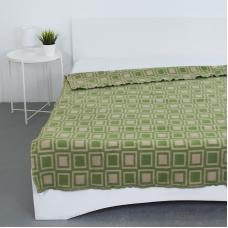 Одеяло полушерсть 500 гр/м2 цвет зеленый 190/200 см